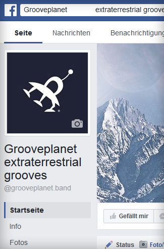 GROOVE PLANET | bei facebook